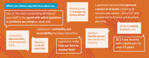 What our clients say and love about us...